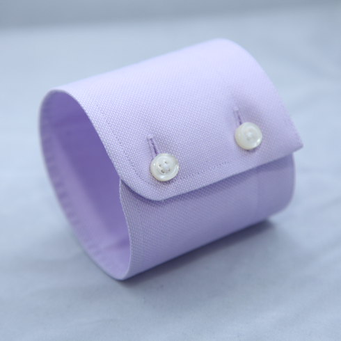 ROUNDED DOUBLE BUTTON CUFF