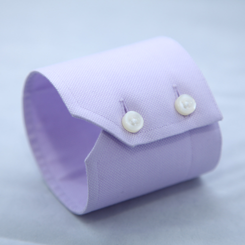 NOTCHED DOUBLE BUTTON CUFF